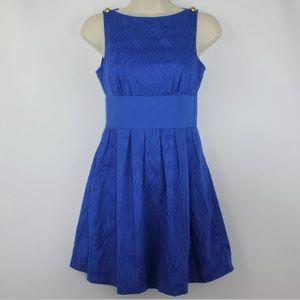 A/X Armani exchange royal blue flare dress sz 8